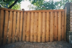 Capped Shadow-Box Fence with Dado Posts #1-min