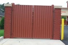 1786_steel dumpster gate