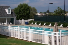 PVC Decorative Fence #1