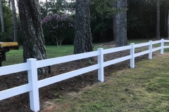 2 Rail White PVC