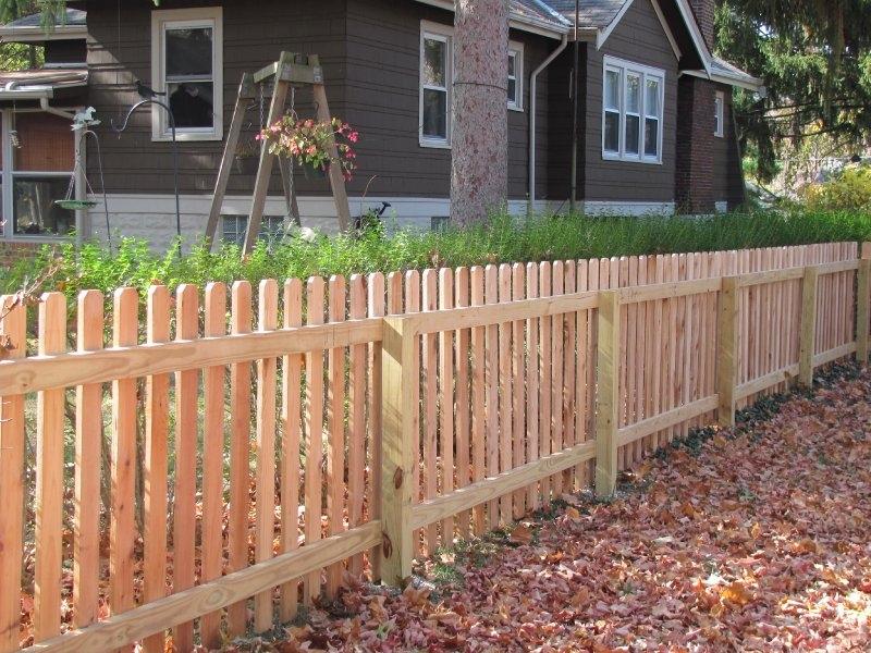 Wood Fences Welcome To Penningtonfence
