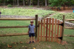 Split Rail w arched gate-min